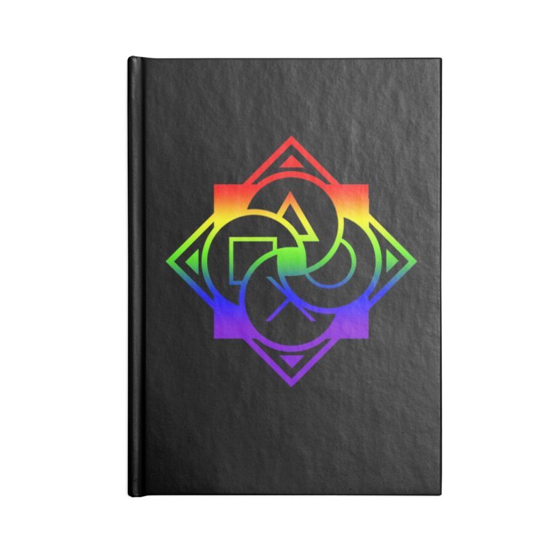 Logo - LGBT+ Pride Accessories Lined Journal Notebook by Queer Women Game Loot