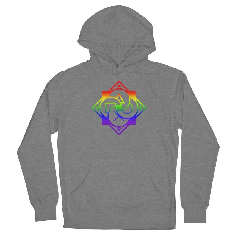 Logo - LGBT+ Pride Men's Pullover Hoody by Queer Women Game Loot