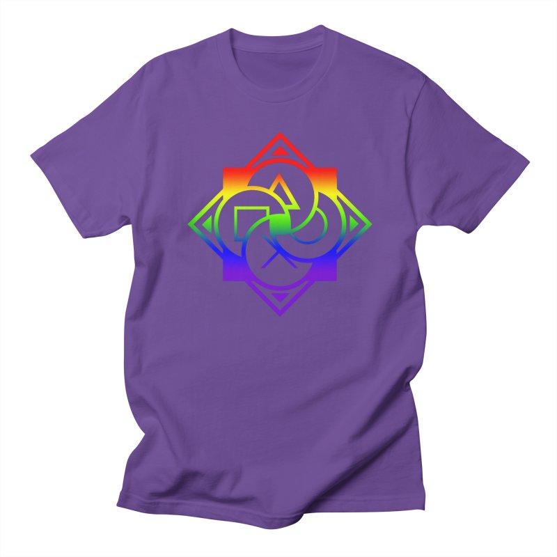 Logo - LGBT+ Pride Men's Regular T-Shirt by Queer Women Game Loot