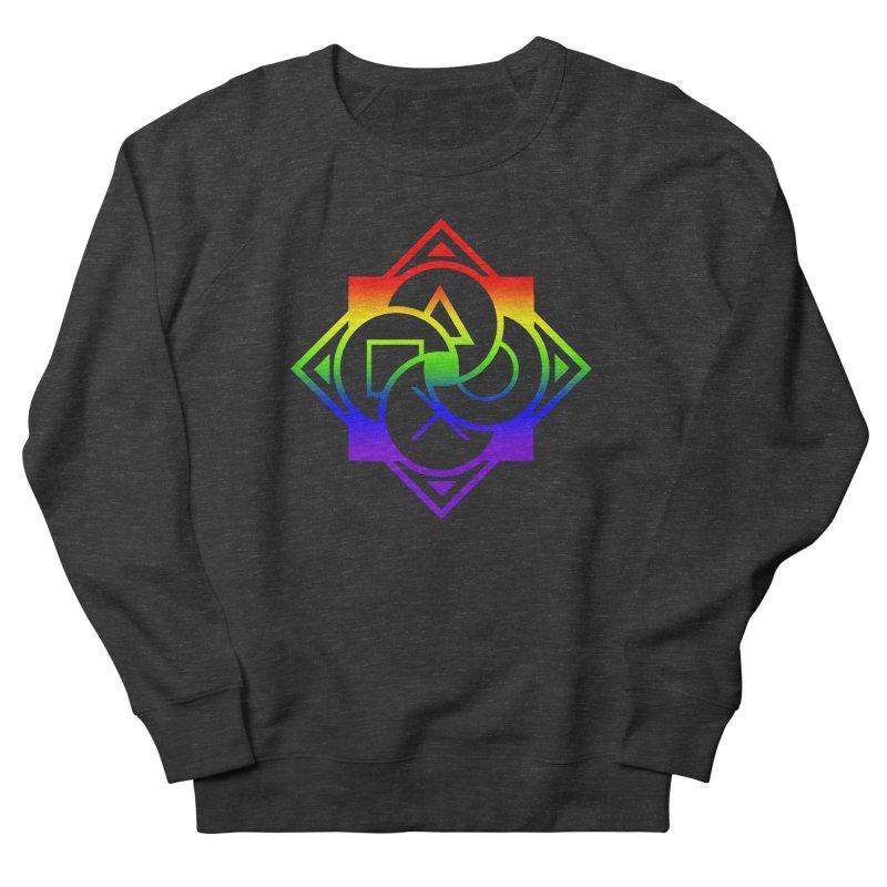 Logo - LGBT+ Pride Men's Sweatshirt by Queer Women Game Loot