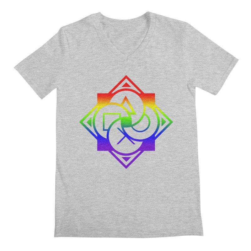 Logo - LGBT+ Pride Men's V-Neck by Queer Women Game Loot