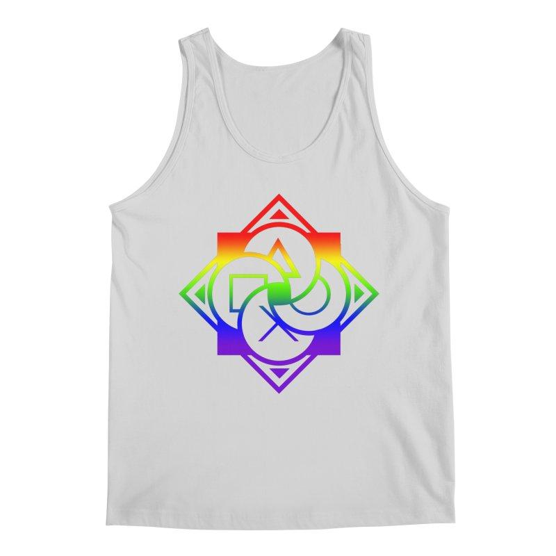 Logo - LGBT+ Pride Men's Tank by Queer Women Game Loot