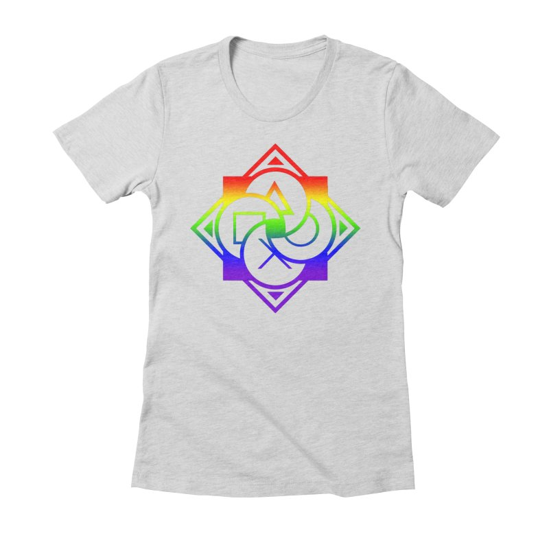 Logo - LGBT+ Pride Women's T-Shirt by Queer Women Game Loot