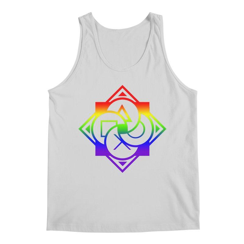 Logo - LGBT+ Pride Men's Regular Tank by Queer Women Game Loot