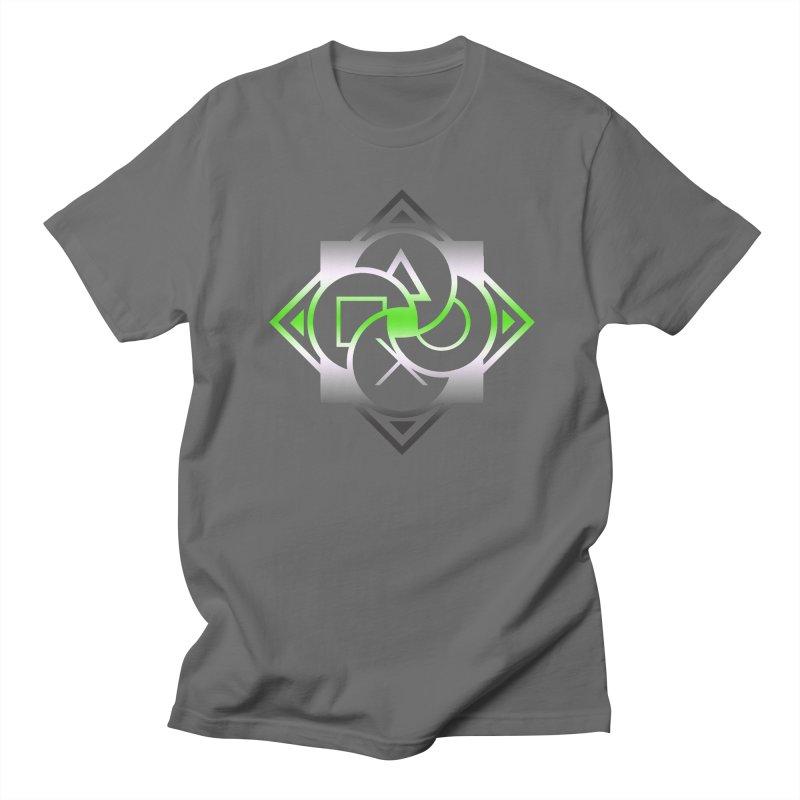 Logo - Agender Pride Men's T-Shirt by Queer Women Game Loot