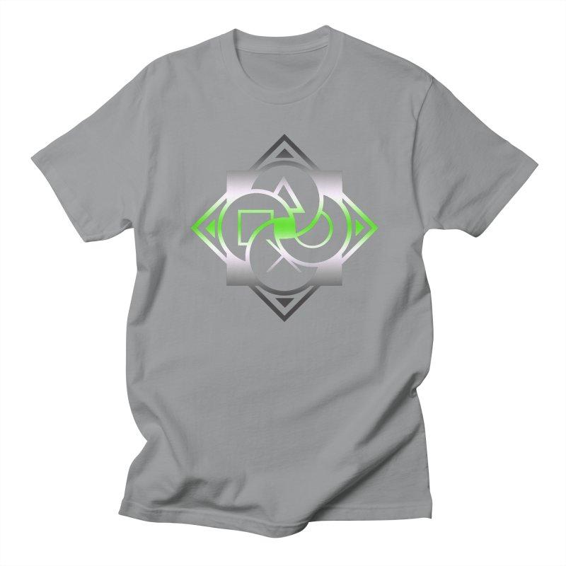 Logo - Agender Pride Women's Regular Unisex T-Shirt by Queer Women Game Loot