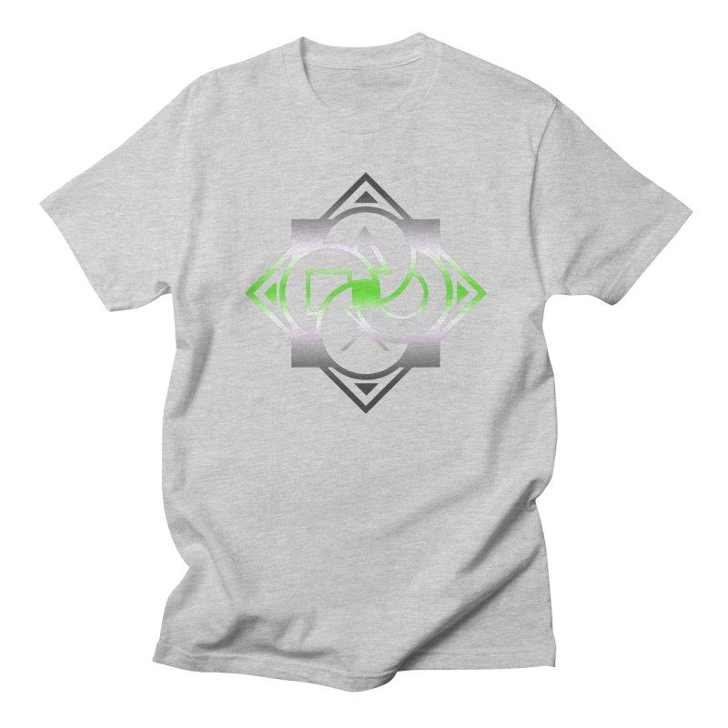 Logo - Agender Pride Men's Regular T-Shirt by Queer Women Game Loot