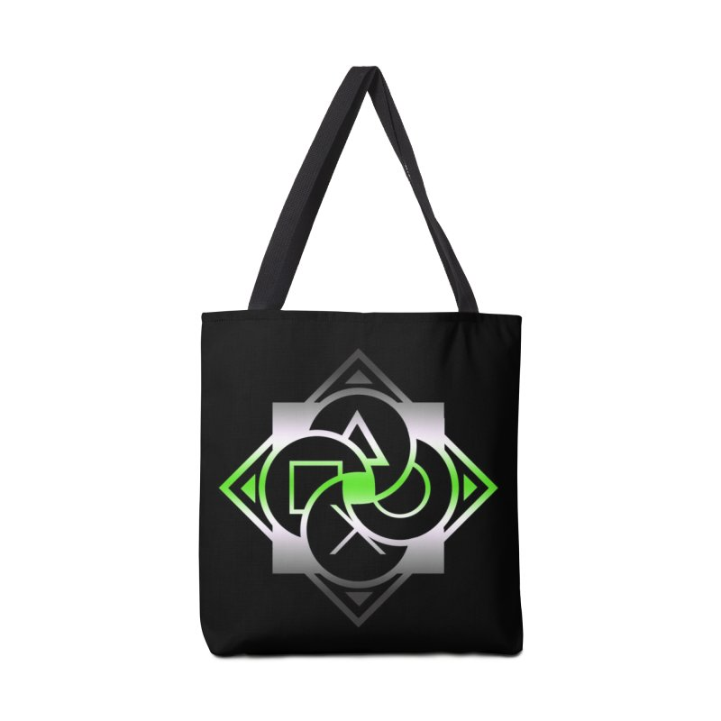 Logo - Agender Pride Accessories Tote Bag Bag by Queer Women Game Loot