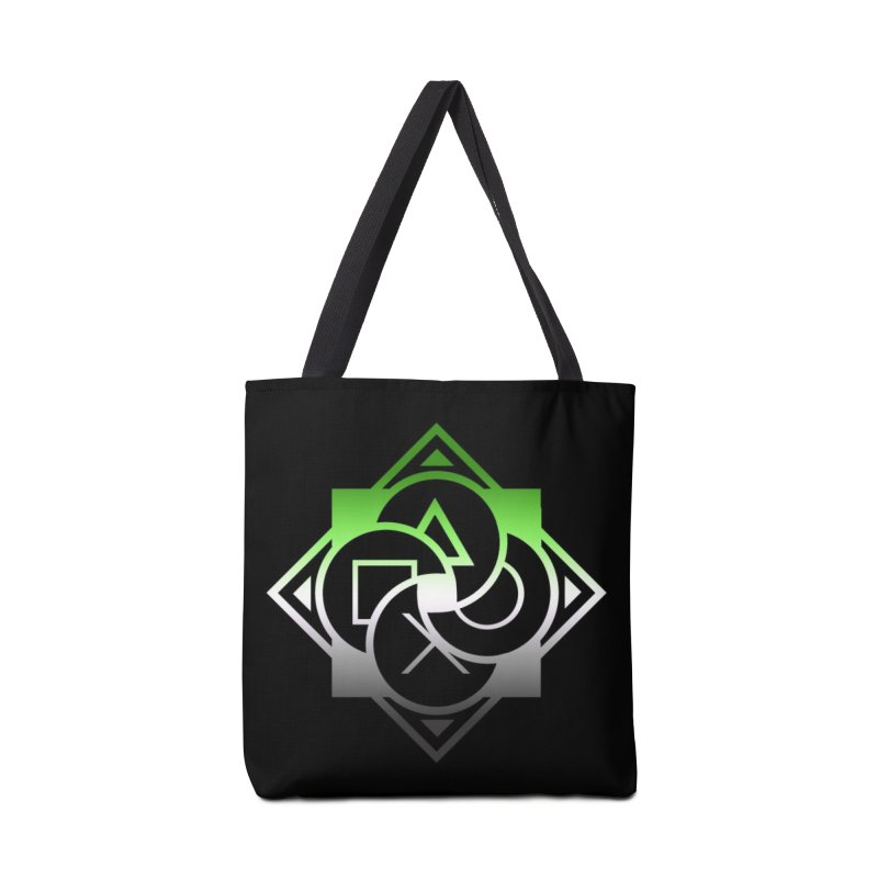 Logo - Aromantic Pride Accessories Tote Bag Bag by Queer Women Game Loot