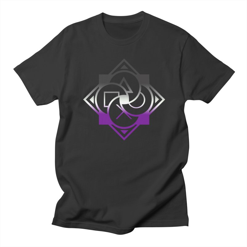Logo - Asexual Pride Women's T-Shirt by Queer Women Game Loot