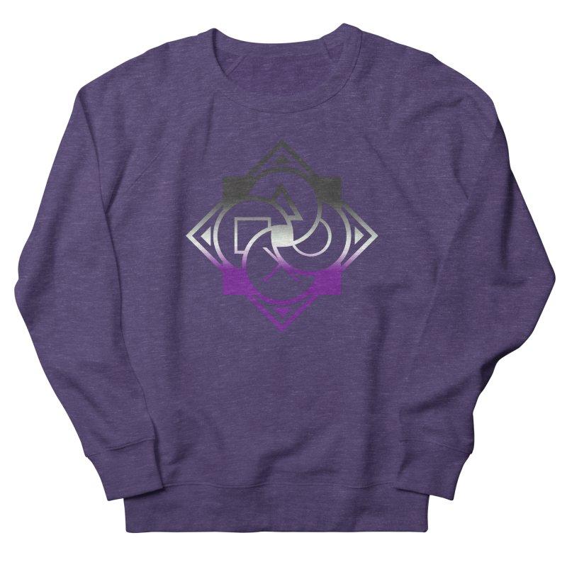 Logo - Asexual Pride Men's Sweatshirt by Queer Women Game Loot