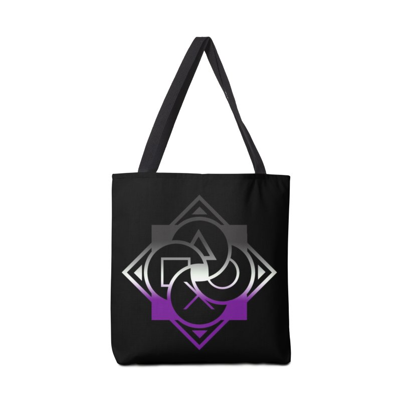 Logo - Asexual Pride Accessories Tote Bag Bag by Queer Women Game Loot