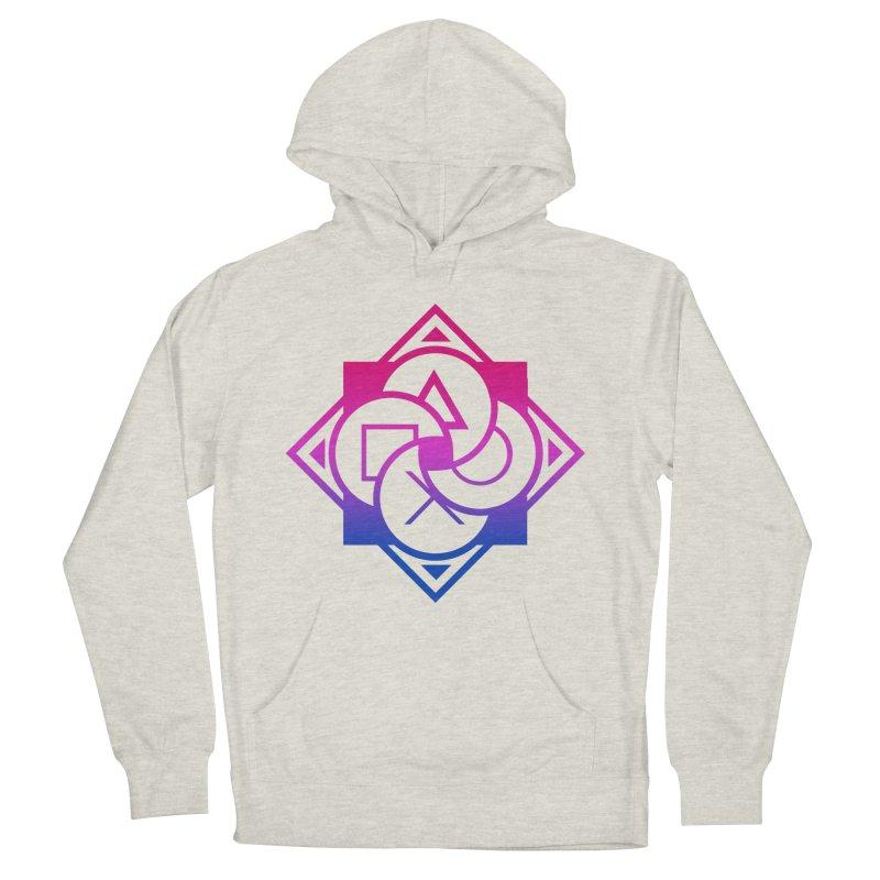 Logo - Bi Pride Men's Pullover Hoody by Queer Women Game Loot