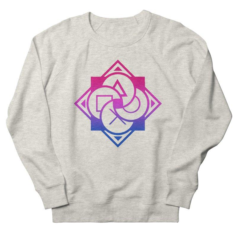 Logo - Bi Pride Men's Sweatshirt by Queer Women Game Loot