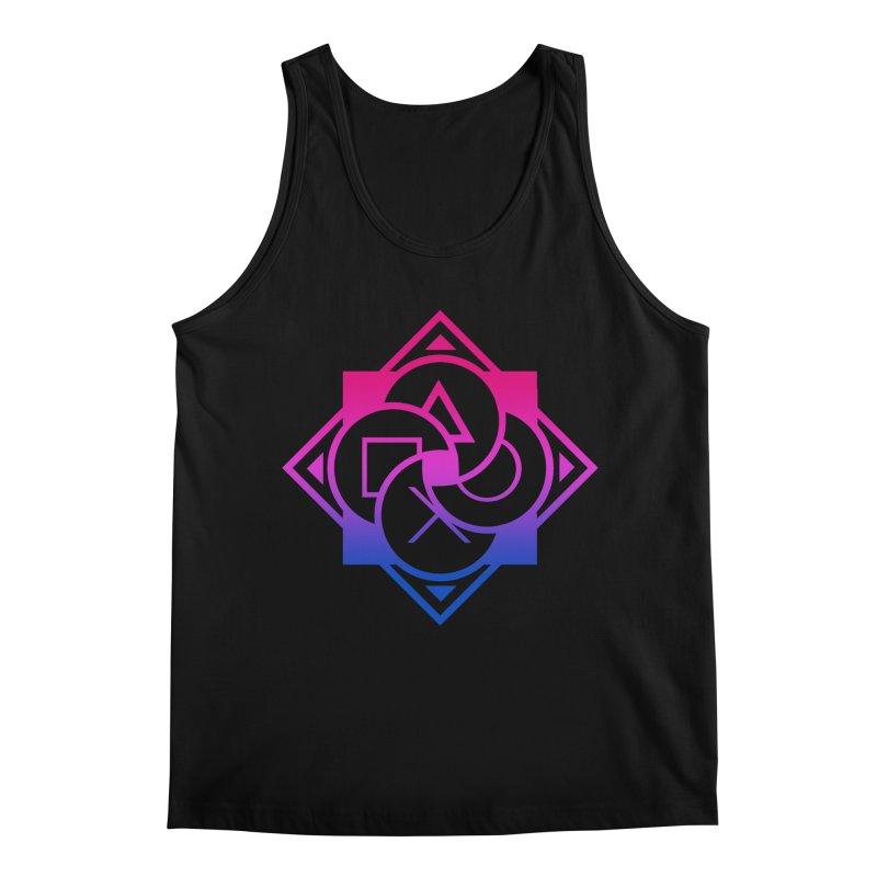 Logo - Bi Pride Men's Regular Tank by Queer Women Game Loot