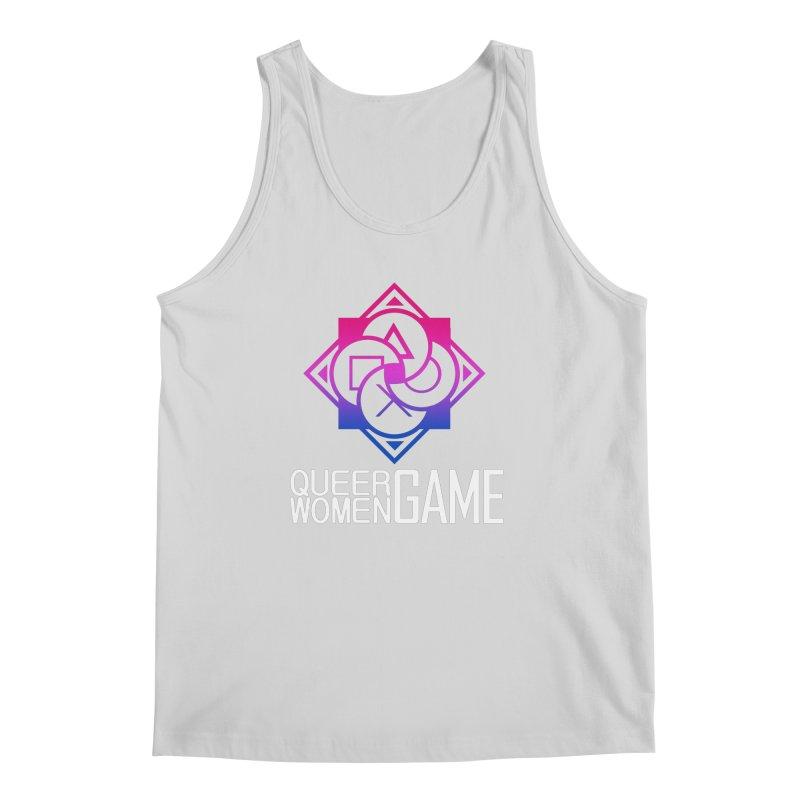 Logo & Text - Bi Pride Men's Regular Tank by Queer Women Game Loot