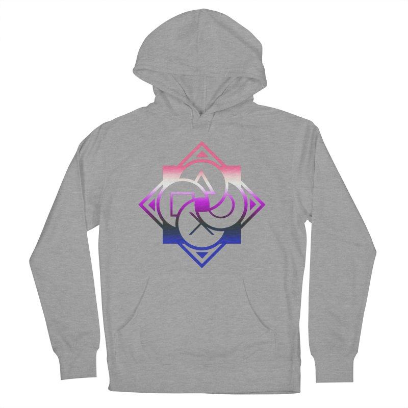 Logo - Genderfluid Pride Women's Pullover Hoody by Queer Women Game Loot