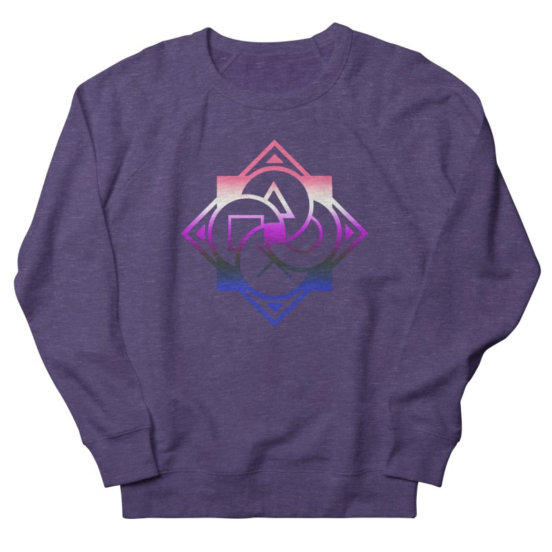 Logo - Genderfluid Pride Men's Sweatshirt by Queer Women Game Loot