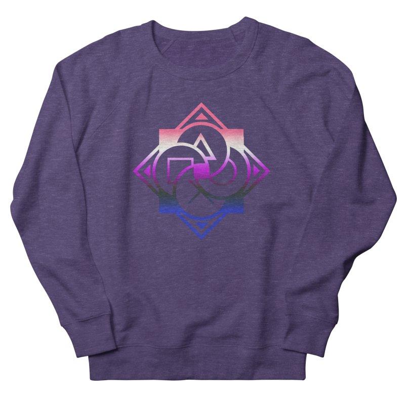 Logo - Genderfluid Pride Women's French Terry Sweatshirt by Queer Women Game Loot