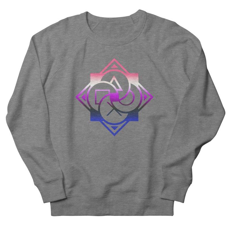 Logo - Genderfluid Pride Men's French Terry Sweatshirt by Queer Women Game Loot