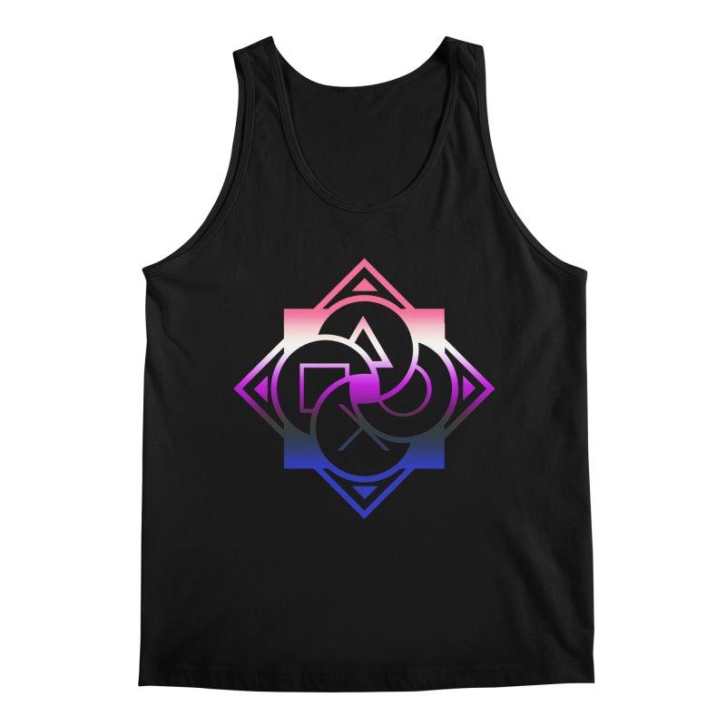 Logo - Genderfluid Pride Men's Regular Tank by Queer Women Game Loot
