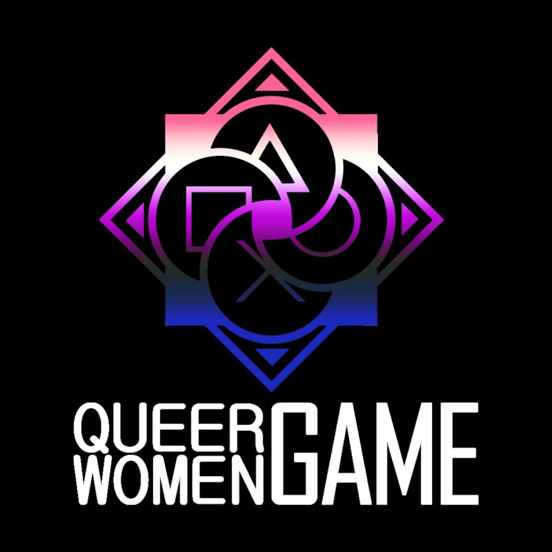 Logo & Text - Genderfluid Pride Men's Tank by Queer Women Game Loot