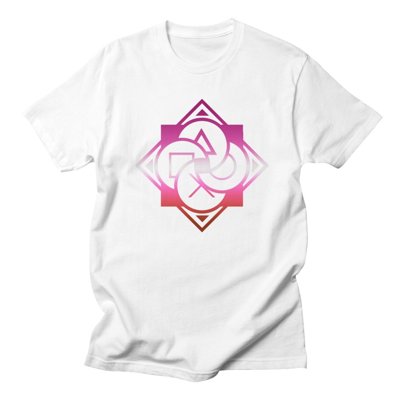 Logo - Lesbian Pride Men's T-Shirt by Queer Women Game Loot
