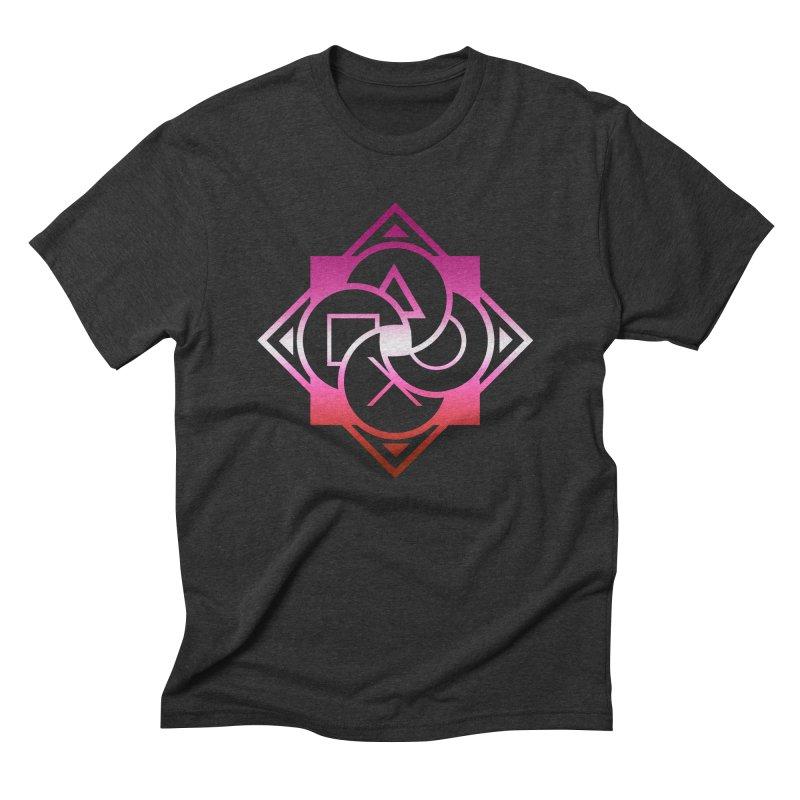 Logo - Lesbian Pride Men's T-Shirt by Queer Women Game Loot