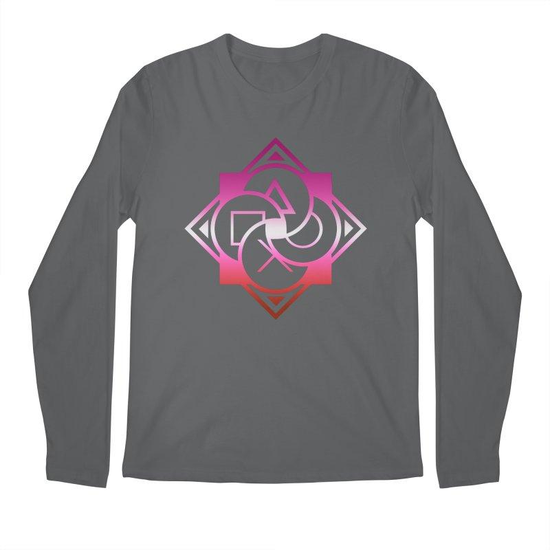 Logo - Lesbian Pride Men's Longsleeve T-Shirt by Queer Women Game Loot