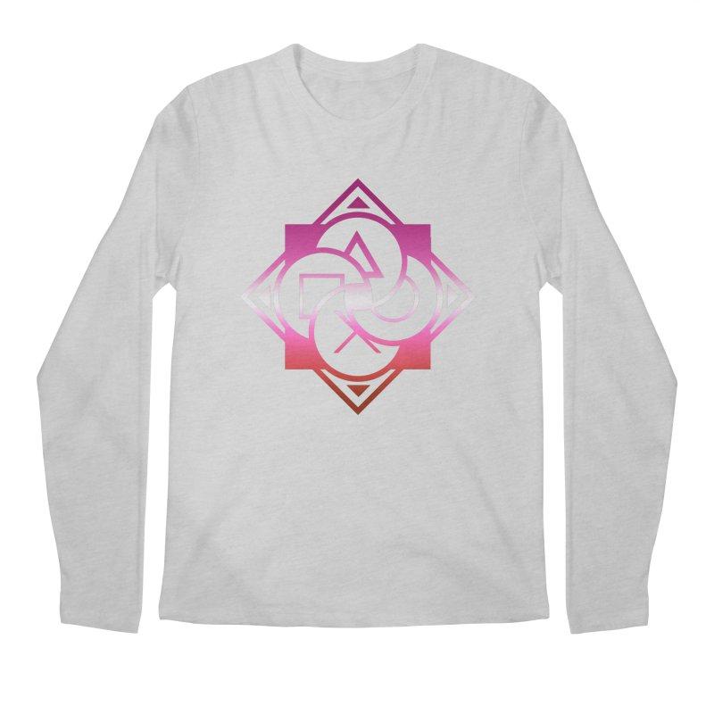 Logo - Lesbian Pride Men's Regular Longsleeve T-Shirt by Queer Women Game Loot