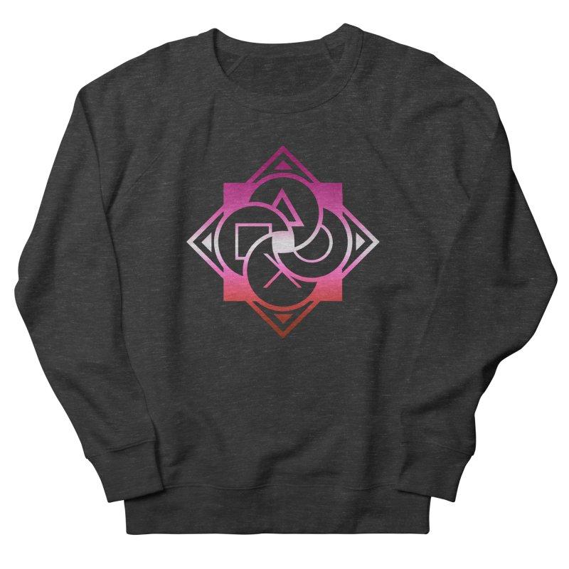Logo - Lesbian Pride Men's French Terry Sweatshirt by Queer Women Game Loot