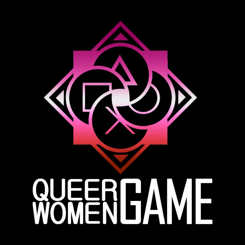 Logo & Text - Lesbian Pride Women's Tank by Queer Women Game Loot