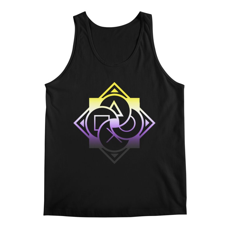 Logo - Nonbinary Pride Men's Regular Tank by Queer Women Game Loot