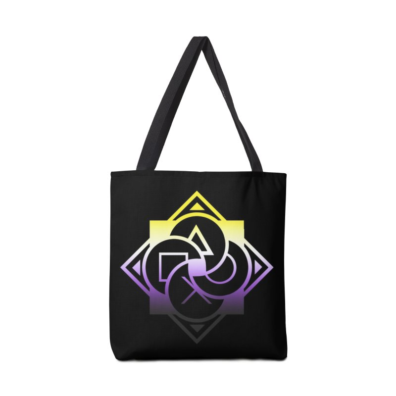 Logo - Nonbinary Pride Accessories Bag by Queer Women Game Loot