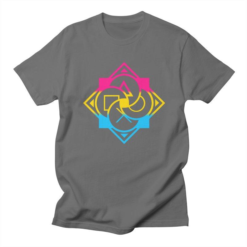 Logo - Pan Pride Men's T-Shirt by Queer Women Game Loot