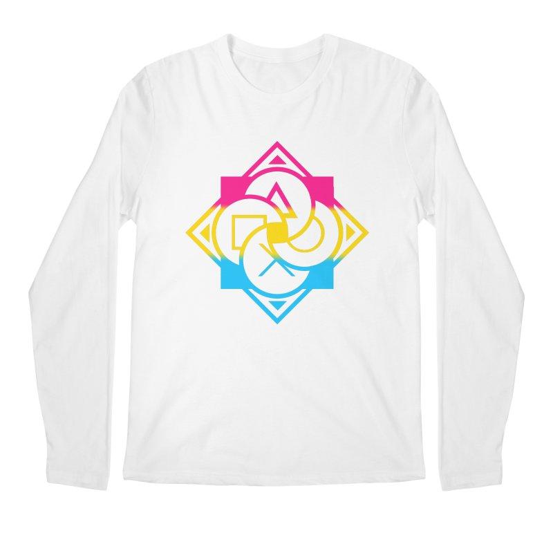 Logo - Pan Pride Men's Regular Longsleeve T-Shirt by Queer Women Game Loot