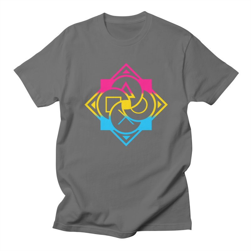 Logo - Pan Pride Men's Regular T-Shirt by Queer Women Game Loot