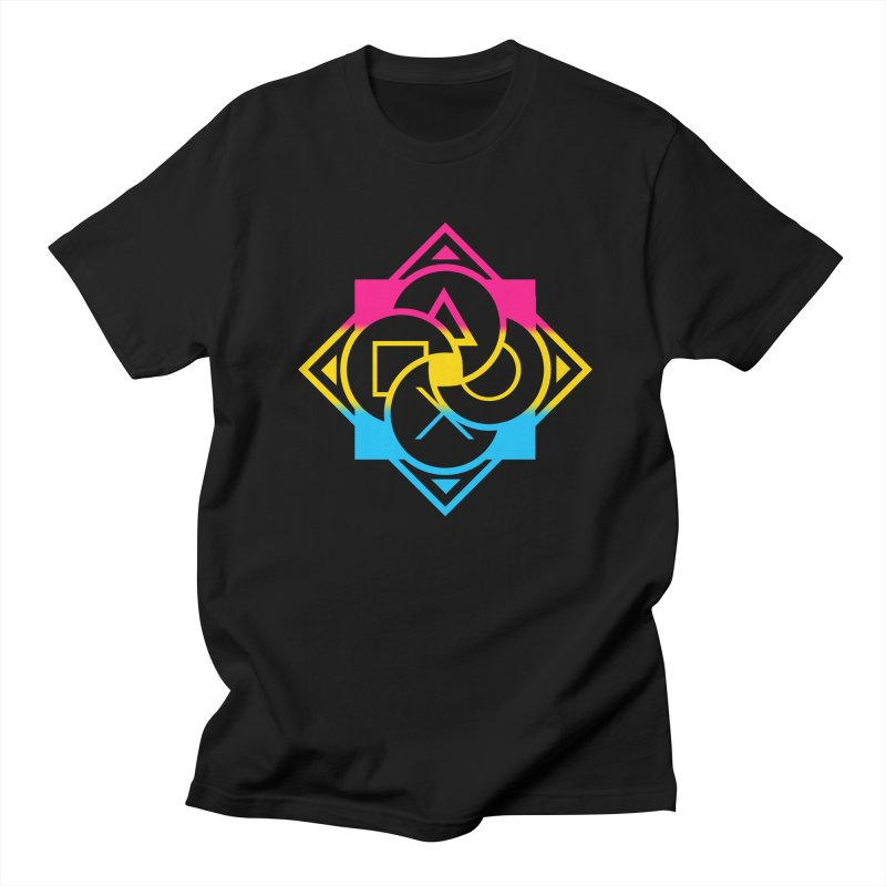 Logo - Pan Pride Men's Regular T-Shirt by Queer Women Game Loot