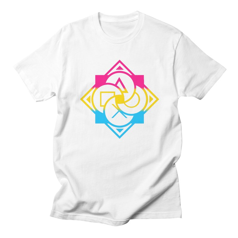 Logo - Pan Pride Women's Regular Unisex T-Shirt by Queer Women Game Loot