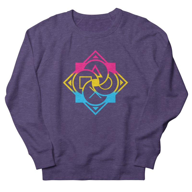 Logo - Pan Pride Women's French Terry Sweatshirt by Queer Women Game Loot
