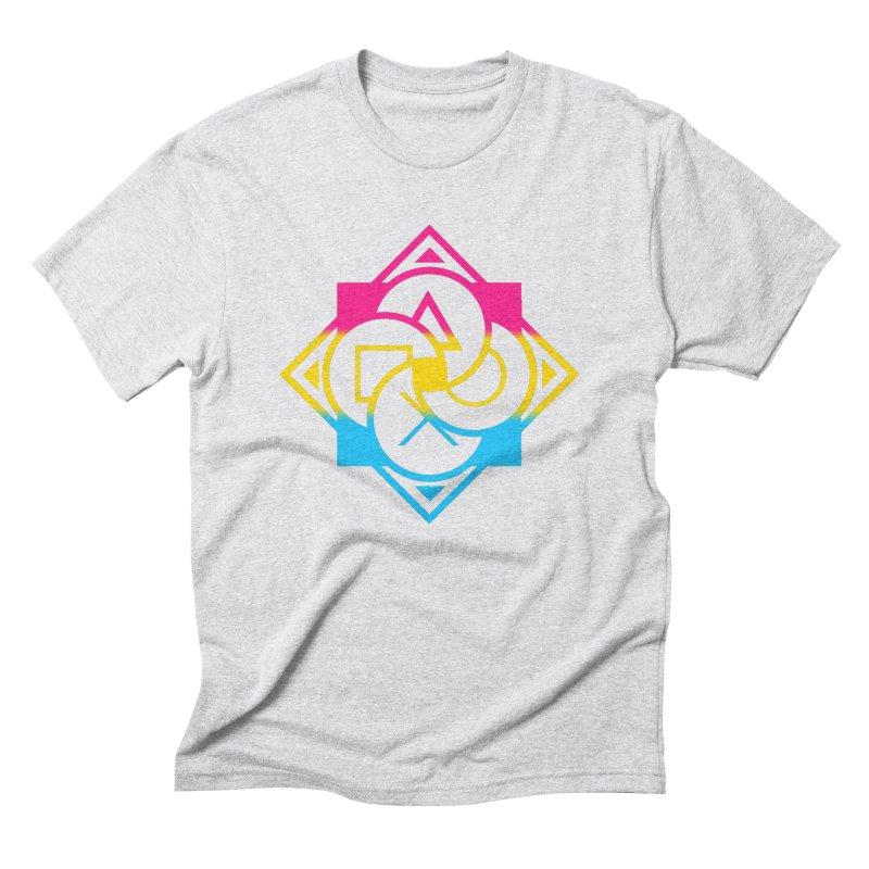 Logo - Pan Pride Men's Triblend T-Shirt by Queer Women Game Loot