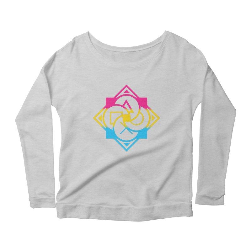 Logo - Pan Pride Women's Longsleeve T-Shirt by Queer Women Game Loot
