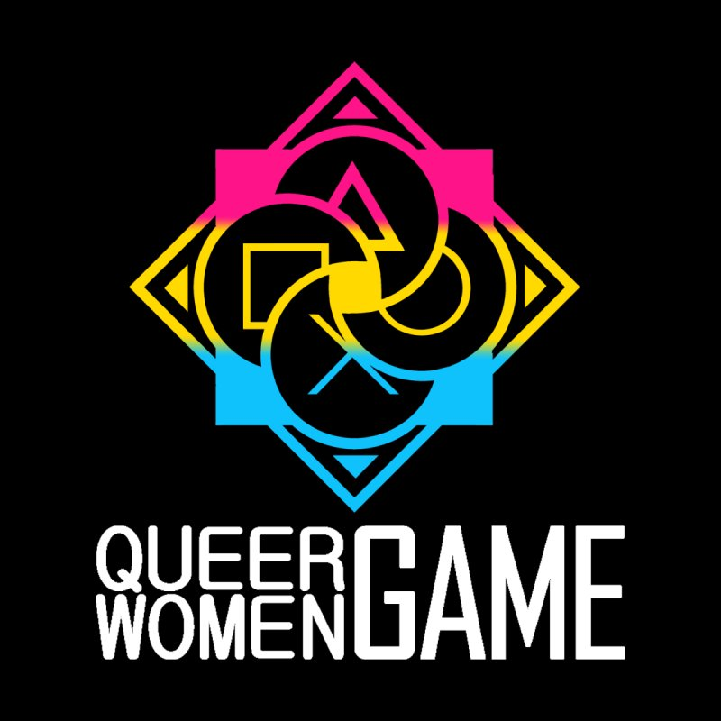 Logo & Text - Pan Pride Men's Pullover Hoody by Queer Women Game Loot
