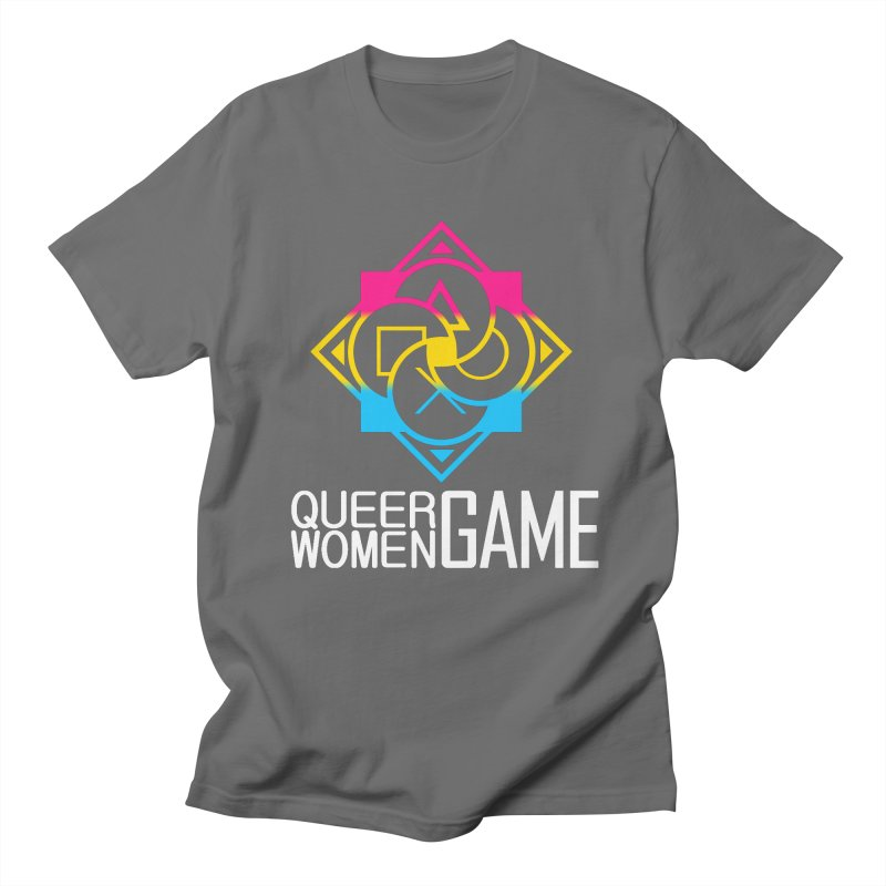 Logo & Text - Pan Pride Women's T-Shirt by Queer Women Game Loot