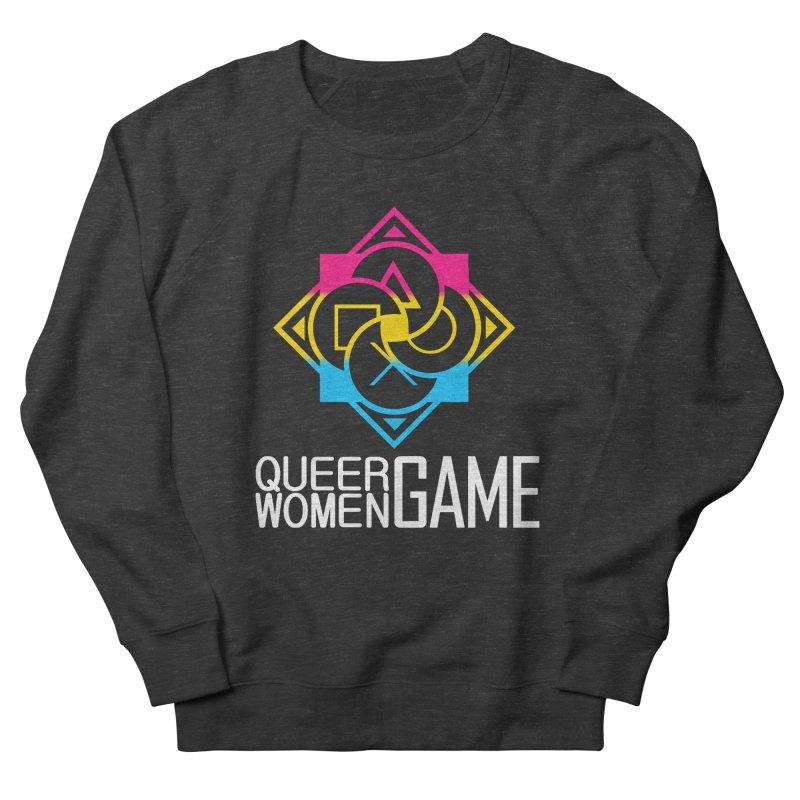 Logo & Text - Pan Pride Men's Sweatshirt by Queer Women Game Loot