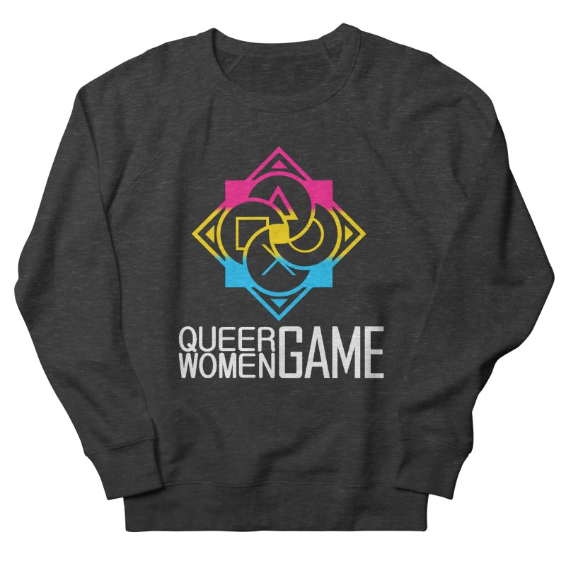 Logo & Text - Pan Pride Men's French Terry Sweatshirt by Queer Women Game Loot