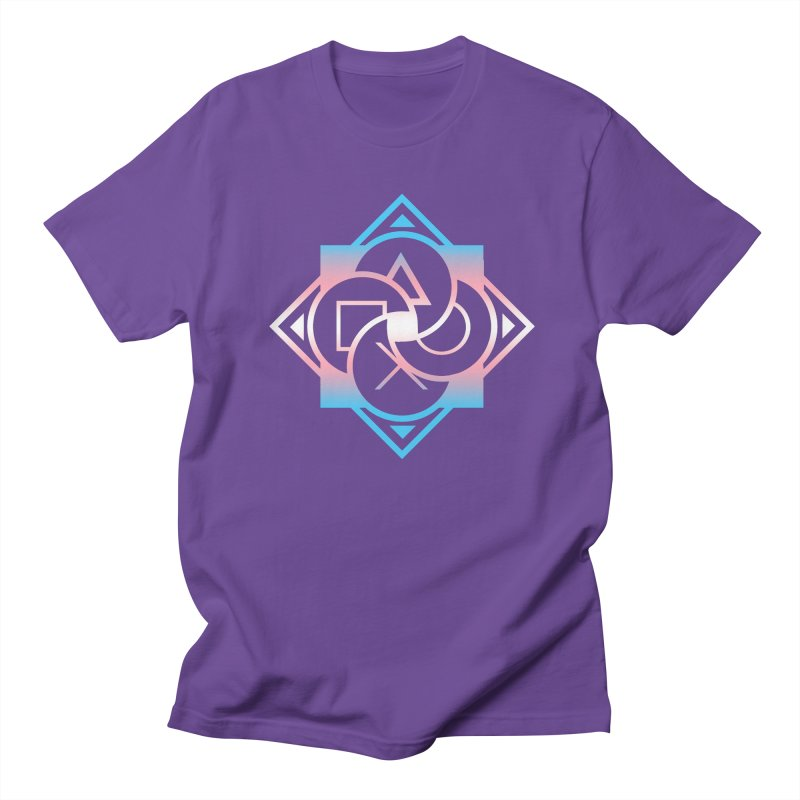 Logo - Trans Pride Men's T-Shirt by Queer Women Game Loot