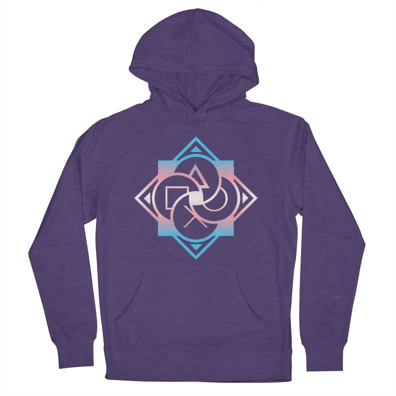 Logo - Trans Pride Women's French Terry Pullover Hoody by Queer Women Game Loot