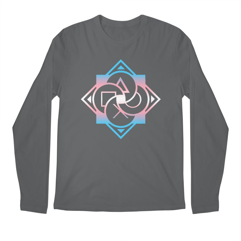 Logo - Trans Pride Men's Longsleeve T-Shirt by Queer Women Game Loot