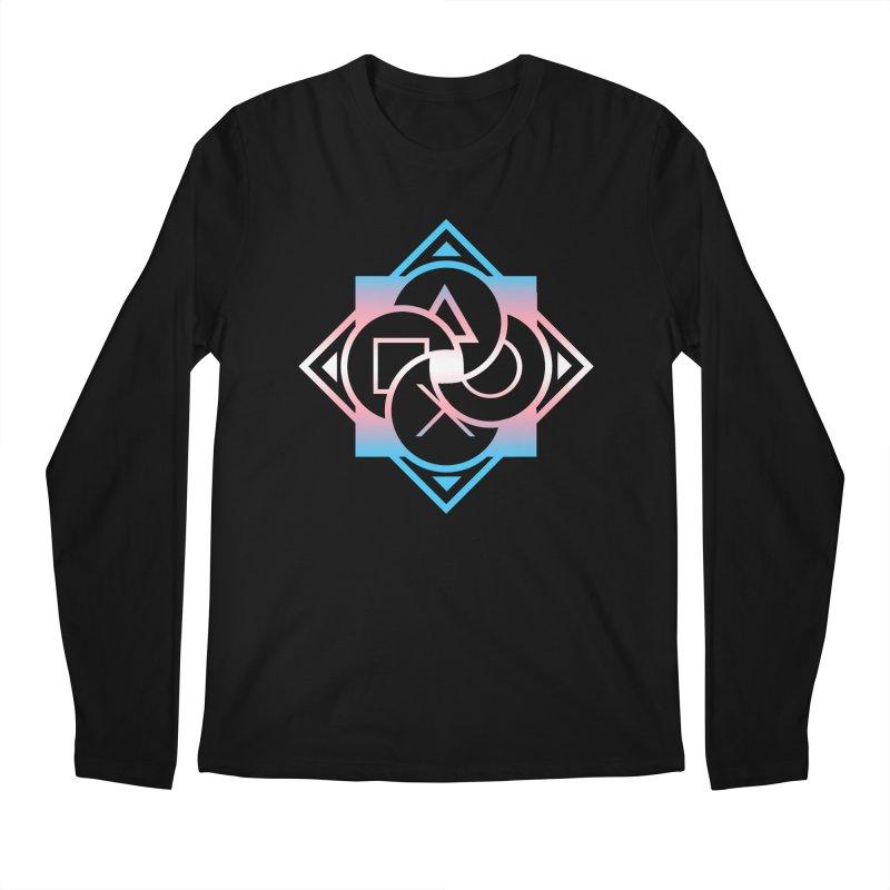 Logo - Trans Pride Men's Regular Longsleeve T-Shirt by Queer Women Game Loot